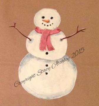 Snowman 2014W